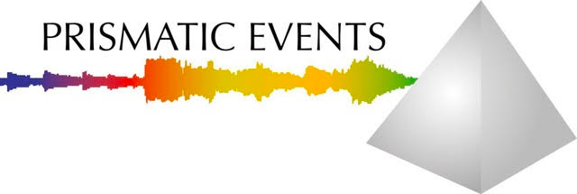 Prismatic Events Logo - Pyramid with audio wave