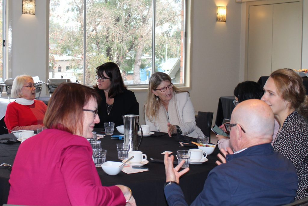 Picture of Networking breakfast at the 2019 Hawkesbury Business Week